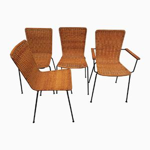 Dining Chairs, 1960s, Set of 4