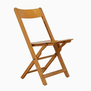 Folding Wooden Chair from Horgenglarus, 1940s