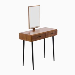 Teak Dressing Table with Mirror, 1960s