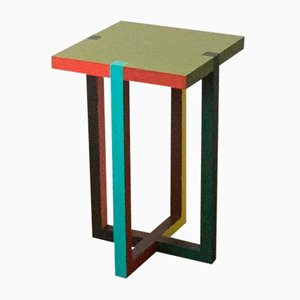 Rally Q Side Table by Martin Holzapfel