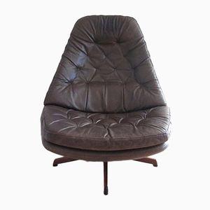 MS68 Swivel Chair by Madsen & Schübel, 1968