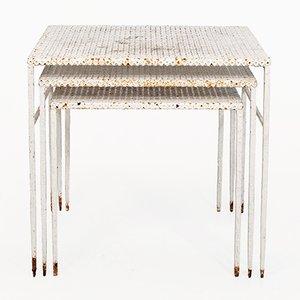 Nesting Tables by Mathieu Matégot, 1950s