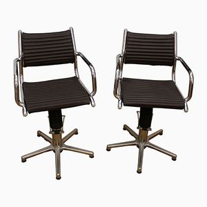 Swivel Chairs from Olymp, 1970s, Set of 2