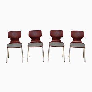 Stühle von Flötotto, 1960er, 4er Set