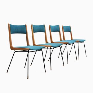 Mid-Century Chairs by Carlo di Carli, Set of 4