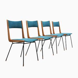 Mid-Century Stühle von Carlo di Carli, 4er Set