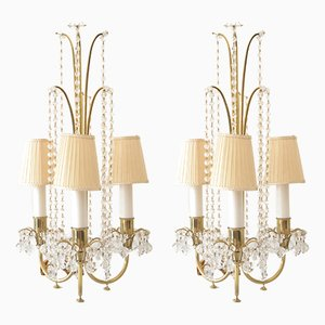 Table Lamps by J & L Lobmeyr, 1950s, Set of 2