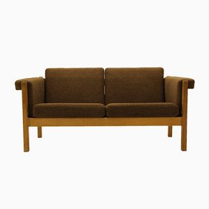 Mid-Century GE40 2-Sitzer Sofa von Hans J. Wegner für Getama