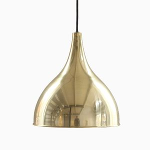 Vintage Silhuet 2 Pendant in Brass by Jo Hammerborg for Fog & Mørup