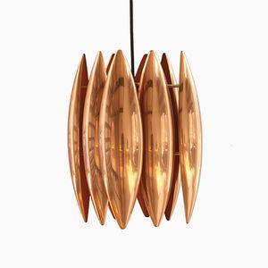 Vintage Kastor Pendant in Copper by Jo Hammerborg for Fog & Mørup