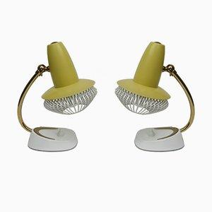 Kleine Italienische Tischlampen, 1950er, 2er Set