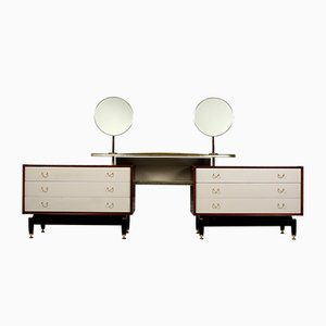 Large Vanity Table with 2 Mirrors from G-Plan, 1958