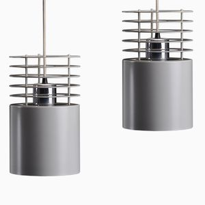 Vintage Hydra 1 Pendant Lamps by Jo Hammerborg for Fog & Morup, Set of 2