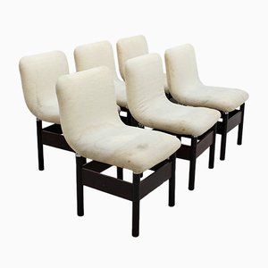 Vintage Chelsea Chairs by Vittorio Introini for Saporiti Italia, 1960s, Set of 6