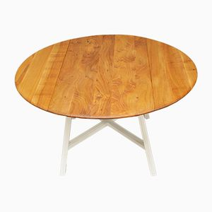 Mid-Century Elm Extendable Table from Ercol