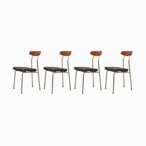 Mid-Century Stühle von John & Sylvia Reid für Stag, 4er Set