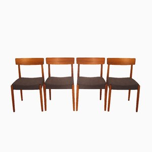 Vintage Scandinavian Chairs by Nils Jonsson for Hugo Troeds, Set of 4