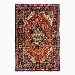 Indischer Kashmir Teppich aus Purer Seide, 1970er