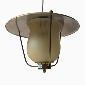Danish Funkis Pendant Lamp from Lyfa, 1940s