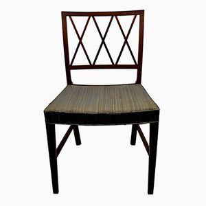 Vintage Esszimmerstühle von Ole Wanscher für A.J. Iversen, 3er Set