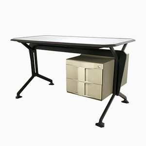 Vintage Arco Schreibtisch von B.B.P.R. für Olivetti
