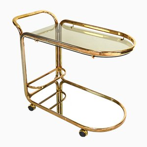 Gilded Bar Cart, 1970s