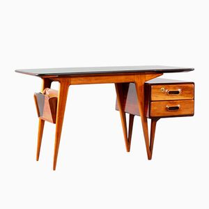 Italian Organic Shaped Desk, 1950s