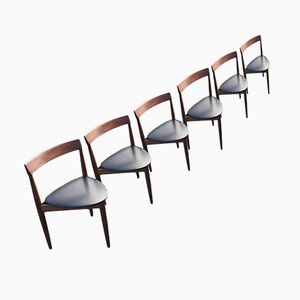 Dining Chairs by Hans Olsen for Frem Røjle, 1962, Set of 6