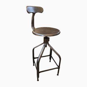 Industrielle Vintage Stühle von Nicolle, 4er Set