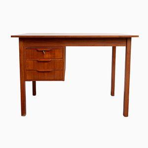 Teak Schreibtisch von Gunnar Nielsen Tibergaard, 1960er