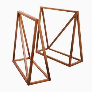 Tables Basses Le Trèteau par Zascho Petkow, Set de 2