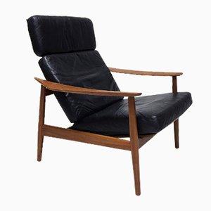 FD164 Sessel von Arne Vodder für France & Son, 1960er