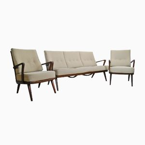 Vintage Scandinavian Living Room Set, 1960s