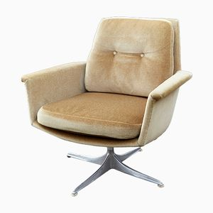 Vintage Swivel Club Chair by Horst Brüning for Cor