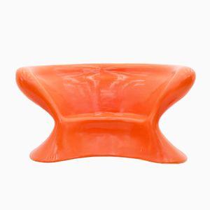 Großer Vintage Polyurethan Stuhl