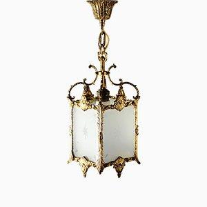 Schweizer Deckenlampe, 1920er