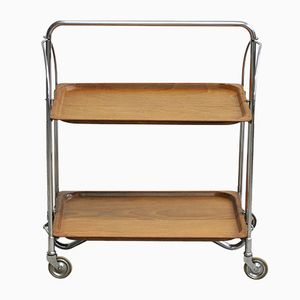 Mid-Century Dinette Serving Trolley from Bremshey & Co, 1960s