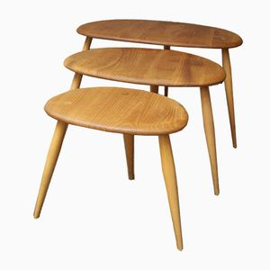 Vintage Pebble Tables by Lucian Ercolani for Ercol
