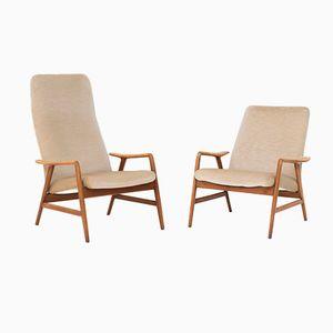 Sessel von Folke Ohlsson für Dux und Artifort, 1960er, 2er Set