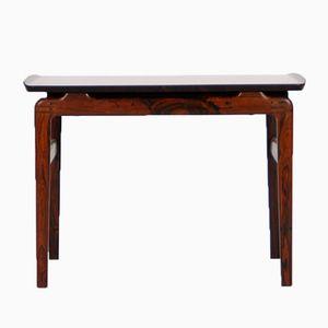 Vintage Coffee Table in Solid Rosewood by Peter Hvidt & Orla Mølgaard-Nielsen for France & Søn