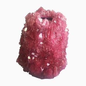 Vaso L042 in cristallo di Isaac Monté