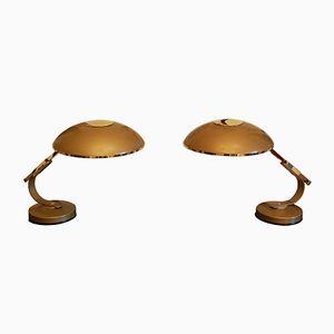 Tischlampen von Ferdinand Solère, 1950er, 2er Set