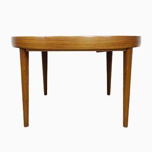 Scandinavian Walnut Table, 1960s