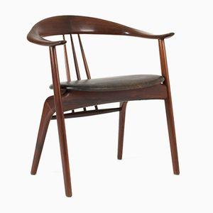 Palisander Armlehnstuhl von Arne Hovmand Olsen für Mogens Kold, 1950er