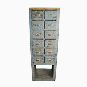 Vintage French Industrial Cabinet, 1930s