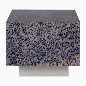 Osis Edition1 Cube Haze Table in Grey by LLOT LLOV