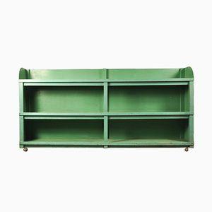 Vintage Industrial Green Shelving Unit