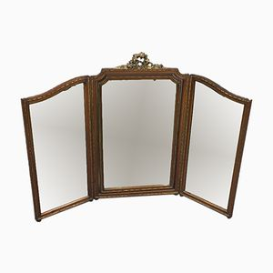 Vintage Three-Piece Mirror
