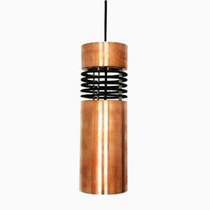 Danish Copper Pendant Lamp, 1960s
