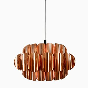 Copper Ceiling Light by Thorsten Orrling for Hans Agne Jakobsson, 1960s